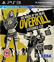 The House of the Dead Overkill: Extended Cut [PlayStation 3, PS3]