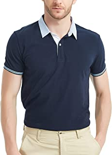 Pique Cotton Polo Shirts for Men
