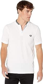 Fred Perry Men's Bomber Collar Pique Shirt