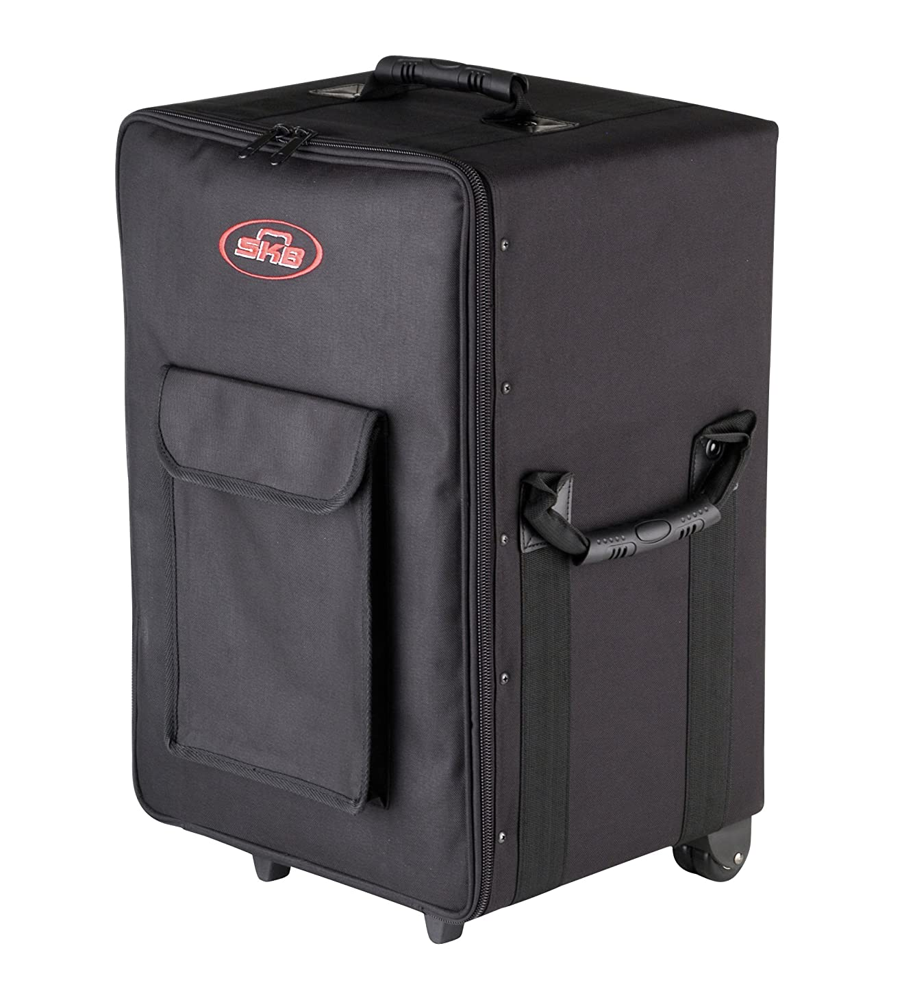SKB Small Rolling Powered Mixer case with wheels and Handle