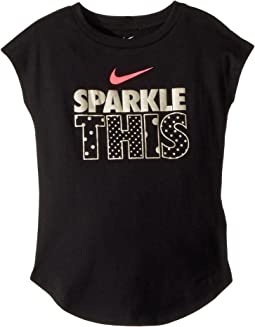 Nike Kids Sparkle This Modern Short Sleeve Tee (Little Kids)