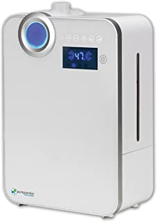 PureGuardian 10L Output per Day Ultrasonic Warm and Cool Mist Humidifier, Large Room, Home, Office, Easy Quiet Operation, ...