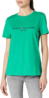 Tommy Hilfiger Women's Th Ess Hilfiger C-nk Reg Tee Ss Baby and Toddler Tank Top