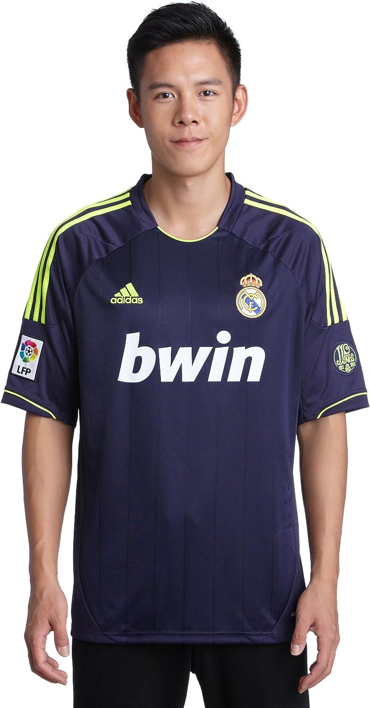 Amazon.com : adidas 2012-13 Real Madrid Away Football Shirt ...
