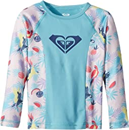 Roxy Kids - Simply Roxy Long Sleeve Rashguard (Toddler/Little Kids/Big Kids)