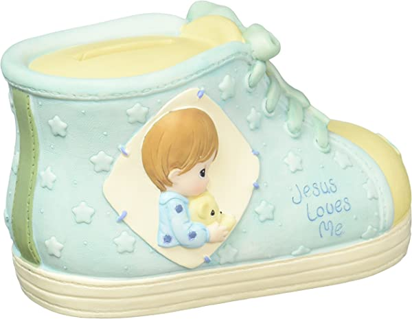 Precious Moments Boy Praying With Doll Cross 701084