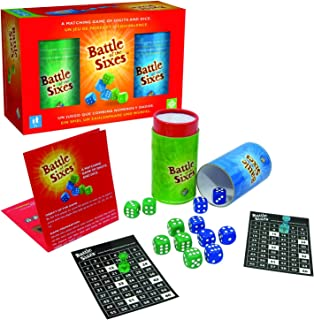 Battle Of The Sixes Dice Party Game