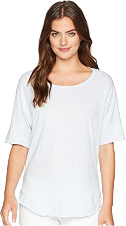 Supima Cotton Slub Scoop Neck Tunic