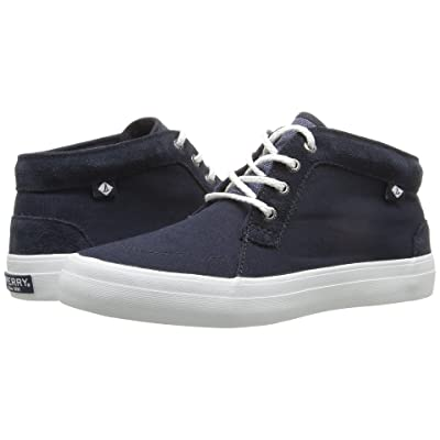 Sperry Crest Knoll Canvas (Navy) Women