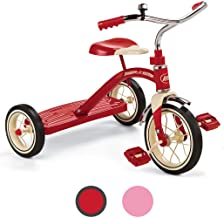"""Radio Flyer Classic Red 10"""" Tricycle for Toddlers ages 2-4 (34B)"""