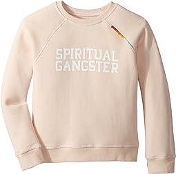 Spiritual Gangster Kids - SG Varsity Crew Neck Fleece (Toddler/Little Kids/Big Kids)