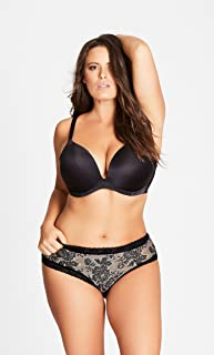 City Chic Women's Apparel Women's Plus Size Adore Push Up Bra