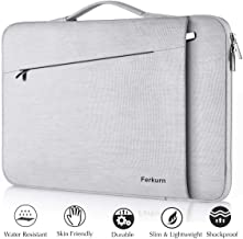 Ferkurn Chromebook Case, 11 11.6 12 inch Laptop Sleeve Carrying with Handle Compatible MacBook Air 11.6, XPS 13, Chromebook 3100, Surface Pro, Google Pixelbook, Acer R11, Chromebook Cover Bag -Grey