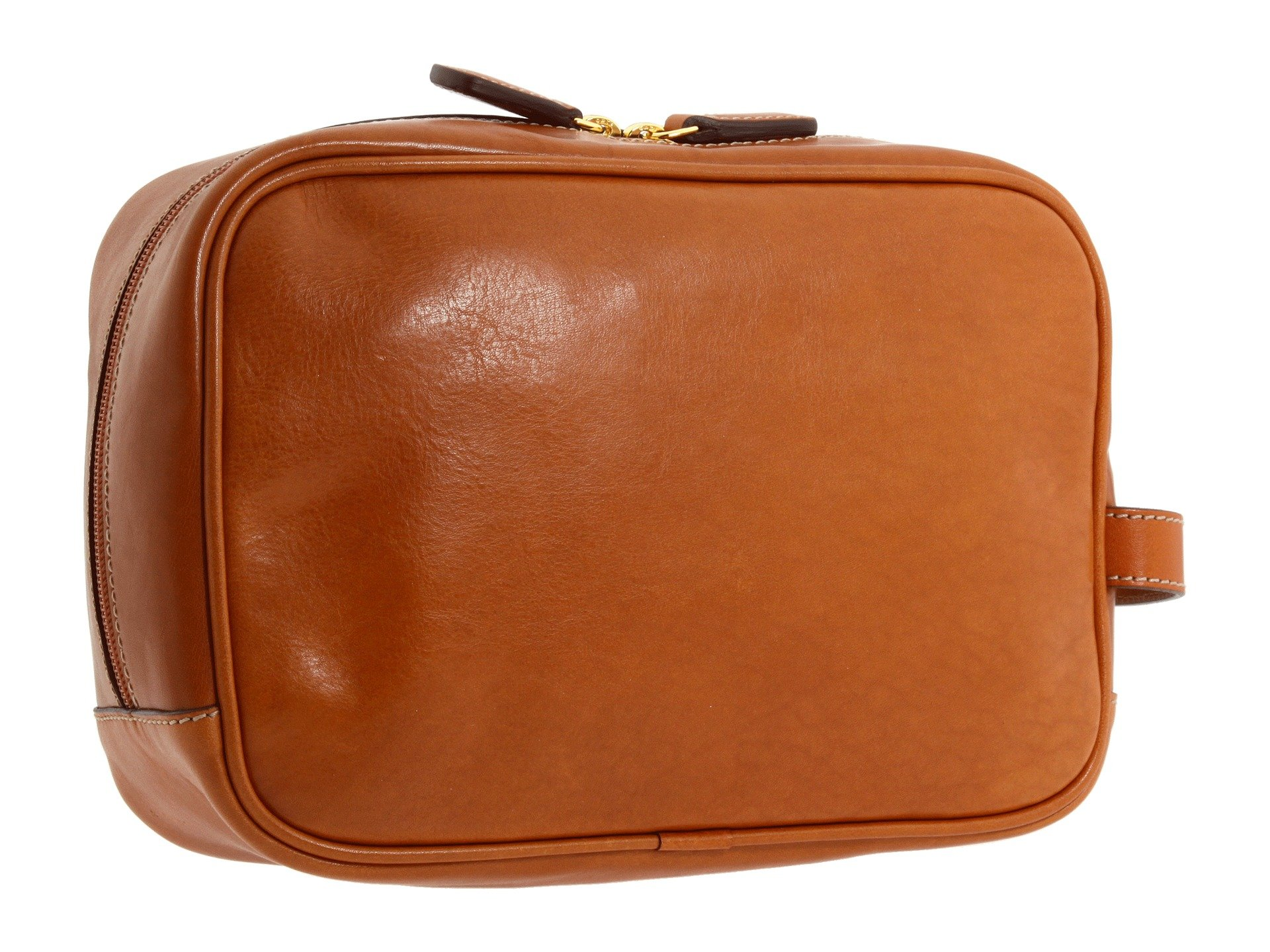 Milano Traditional leather Case Bric's Shave Leather Life Pelle Cognac Ow8nqdtU