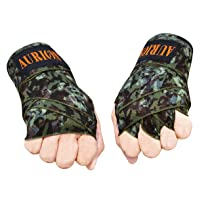 AURION -Army (108) Boxing Hand Wraps, 108 inch Olive Green