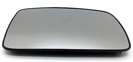 Ensun LR017067 Exterior Rear View Heated Convex Door Mirror Glass RH Passenger Side for Land Rover LR2 LR3 Range Rover Sport
