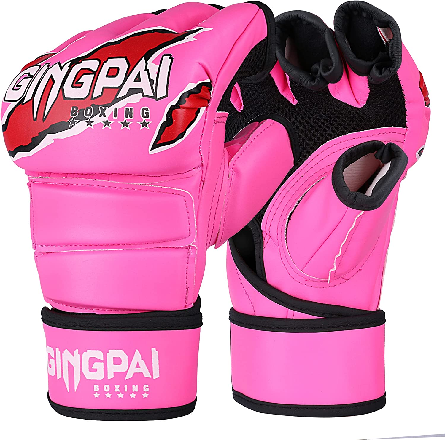 Max 60% OFF GINGPAI UFC MMA Gloves Half-Finger Fight Boxing Max 65% OFF for Men
