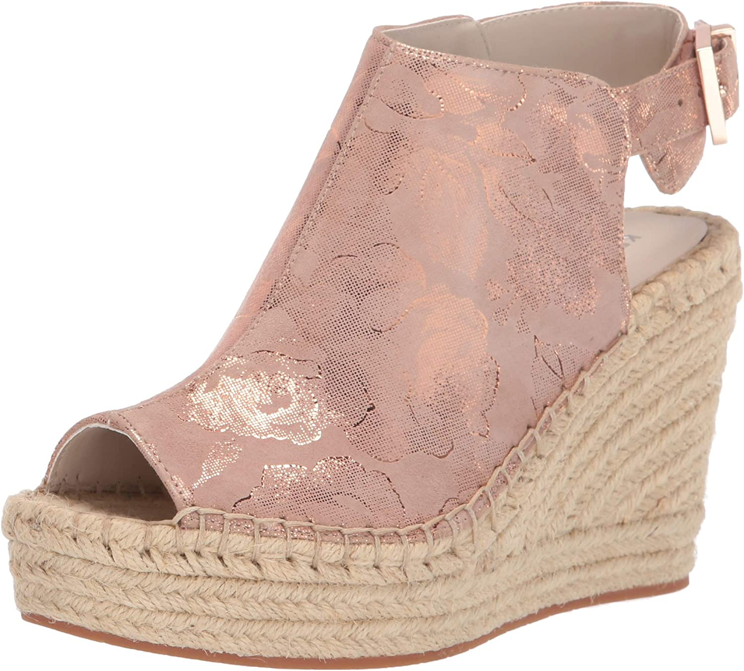 Kenneth Cole New York Womens 7 Olivia Espadrille Wedge Espadrille Wedge Sandal