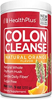 Health Plus Colon Cleanse - Natural Daily Fiber - No Artifical Flavors, Natural Sweetener, Gluten Free, Detox, Heart Healt...