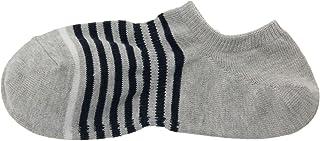 MUJI - Men Organic Cotton Right Angle Sneaker In Socks (5 pairs)