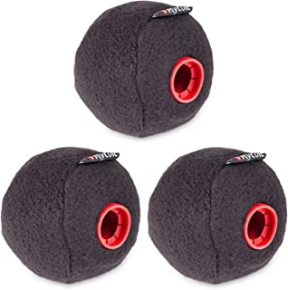 Rycote 19/20mm Baseball Windscreen for DPA 4018A Supercardioid, Schoeps CMC Series Condenser Microphones, 3 Pack