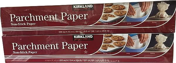 Kirkland Signature Non Stick Parchment Paper 205 Sq Ft Twin Pack