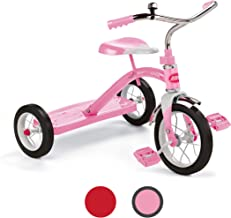 """Radio Flyer Classic Pink 10"""" Tricycle"""