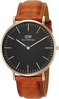 [ダニエル・ウェリントン] 腕時計 Classic Black Durham DW00100126 並行輸入品 ブラウン