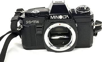 Minolta X-7A Manual Focus SLR Film Camera; Body Only