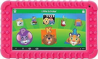 "School Zone - Little Scholar Kids Learning Tablet - Ages 3 to 7, Preschool, Kindergarten, 1st Grade, 7"" Display, 70+ Prelo..."