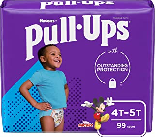Sponsored Ad - Pull-Ups Boys' Potty Training Pants Training Underwear, 4T-5T, 99 Ct, One Month Supply