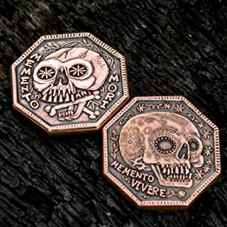 Memento Mori Copper Reminder Coin