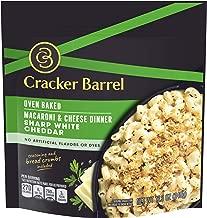 Cracker Barrel Oven Baked Sharp White Cheddar Macaroni & Cheese (12.34 oz Box)