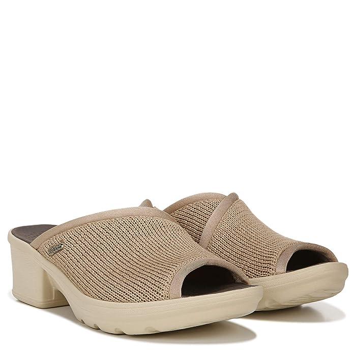 Bzees  Lulu (Tan Loose Knit 2) Womens Sandals