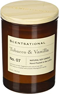 Scentsational Apothecary - Tobacco & Vanilla Candle