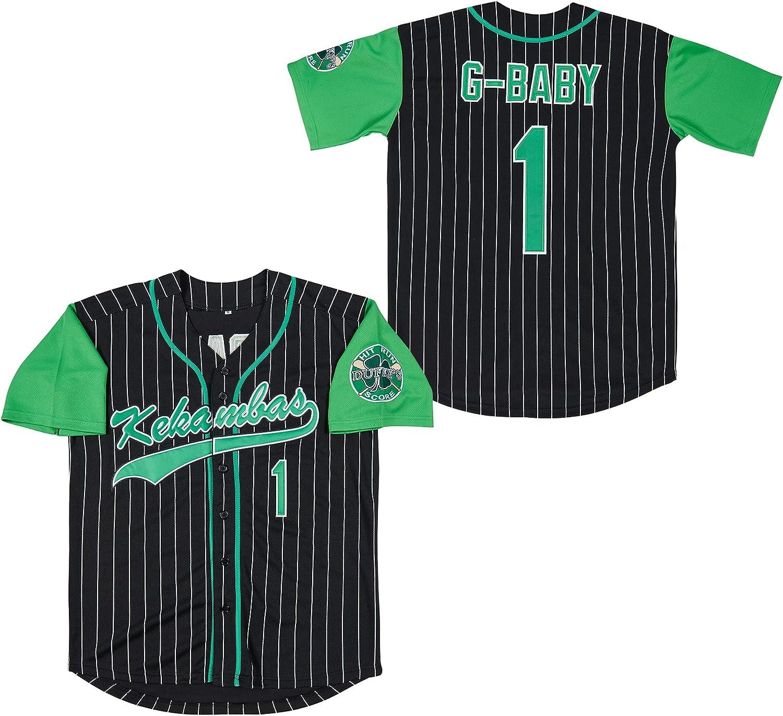 Kekambas Men's Year-end annual account #1 G-Baby Jarius Baseball Movie OFFicial mail order Hardball Je Evans