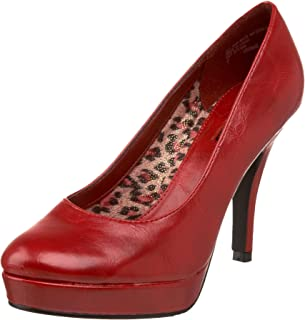 Best unlisted red pumps Reviews
