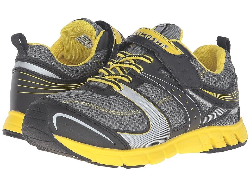 Tsukihoshi Kids Youth Velocity (Little Kid/Big Kid) (Black/Yellow) Boys Shoes