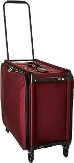 26 Inch Medium Pullman With Garment Bag, Burgundy, One Size