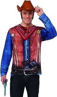 Wild Western Cowboy Men's Costume Realistic 3D T-Shirt Cosplay