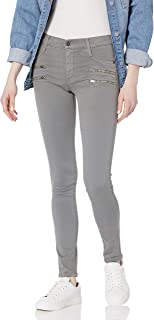 James Jean Women's Twiggy Crux Double Front Zip Legging Jean In Stonehenge