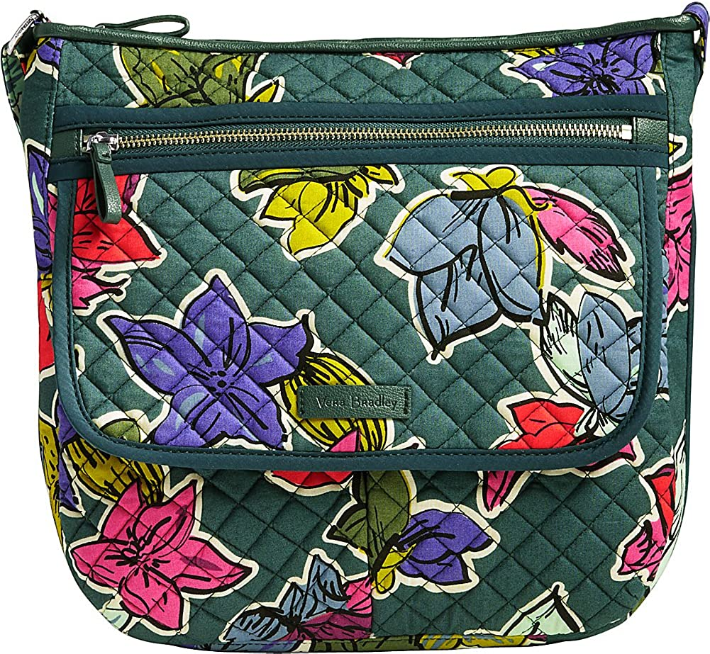 Vera Bradley Women's Iconic Mailbag Size Falling Flowers One Ranking free shipping TOP19