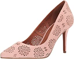 Waverly Tea Rose Cut Out Pump