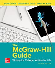 mcgraw hill guide to writing 4th edition