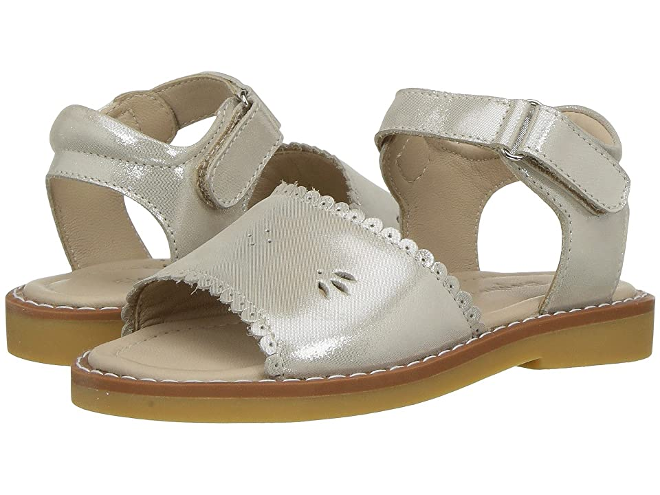 Elephantito Classic Sandal w/ Scallop (Toddler/Little Kid) (Talc) Girls Shoes