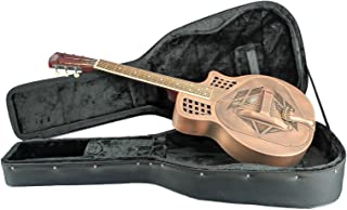 Royall Trifecta Copper Plated 12 Fret Cutaway Tricone Resonator with Case