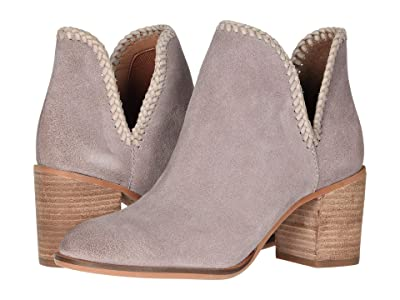 FRYE AND CO. Phoebe Braid Bootie (Lilac Multi Suede/Waxed Leather) Women