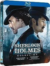 Pack Sherlock Holmes 1+2 Black Metal Edition Blu-Ray [Blu-ray]