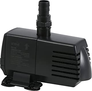 EcoPlus 728310 Pump, Fixed Flow Water 396 GPH, Black