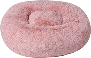 BinetGo Dog Bed Cat Bed Cushion Bed Faux Fur Self-Warming Cat and Dog Bed Cushion for Joint-Relief and Improved Sleep - Ma...